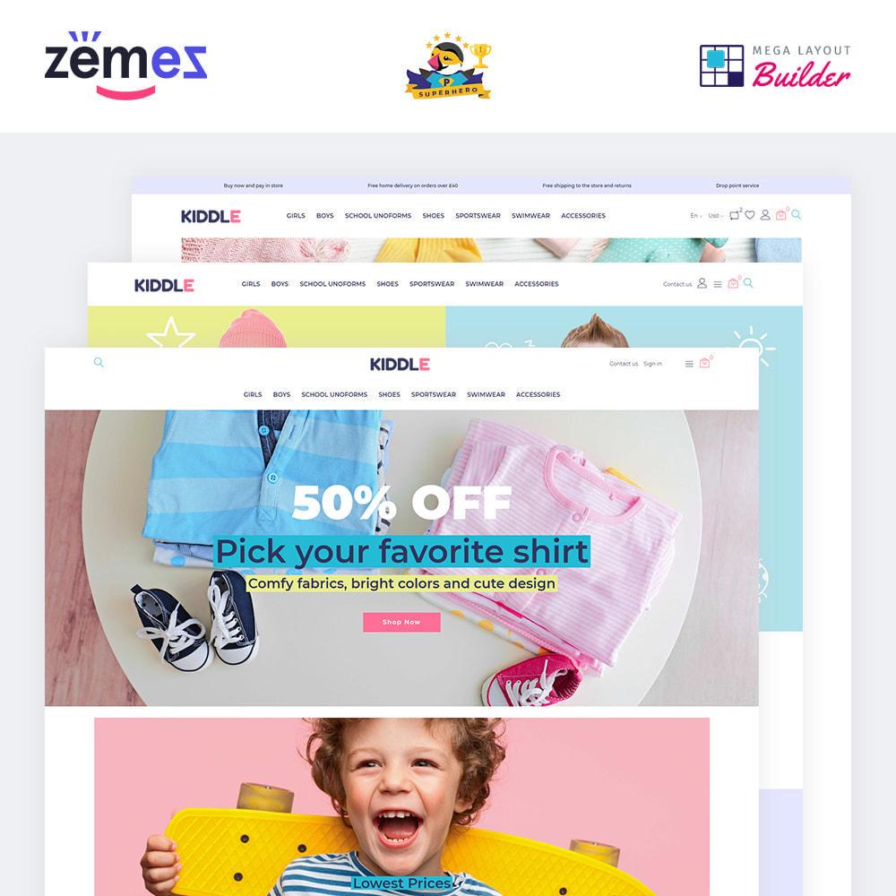 theme - Fashion & Shoes - Kiddle - Children Clothes Store - 1