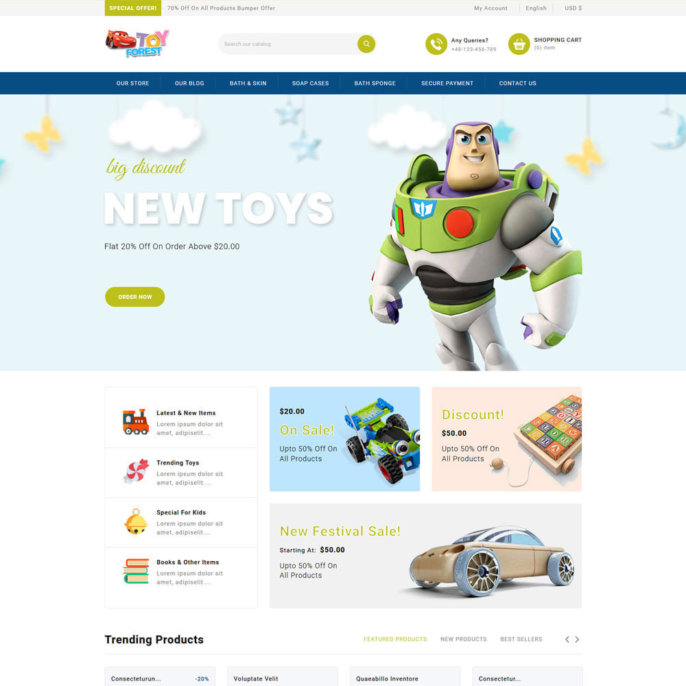theme - Niños y Juguetes - ToyForest - The Kid Store - 6