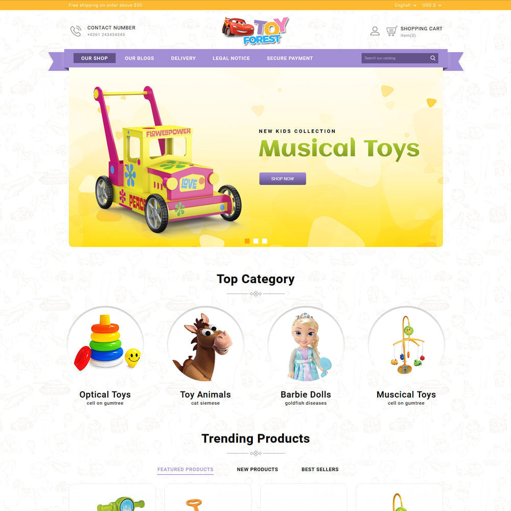 theme - Enfants & Jouets - ToyForest - Le Kid Store - 3