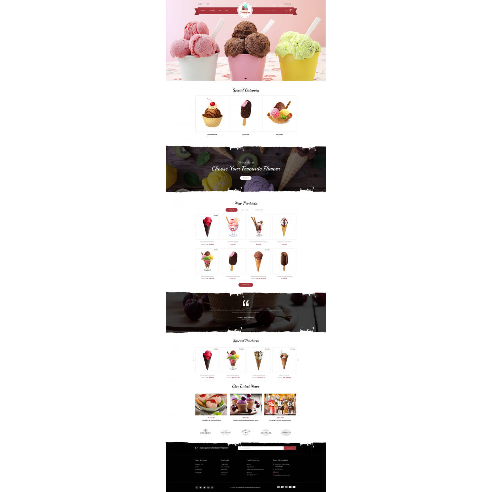 theme - Gastronomía y Restauración - Creambar - Ice Cream Store - 2