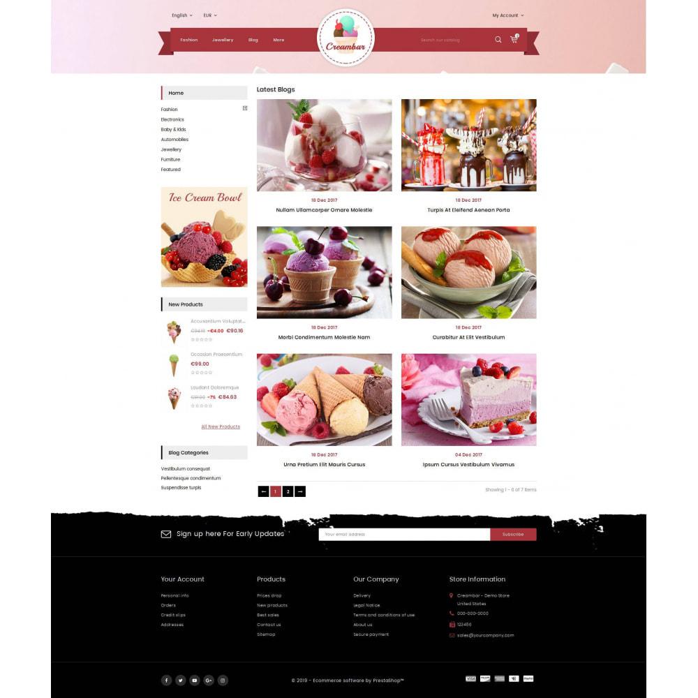 theme - Gastronomía y Restauración - Creambar - Ice Cream Store - 9