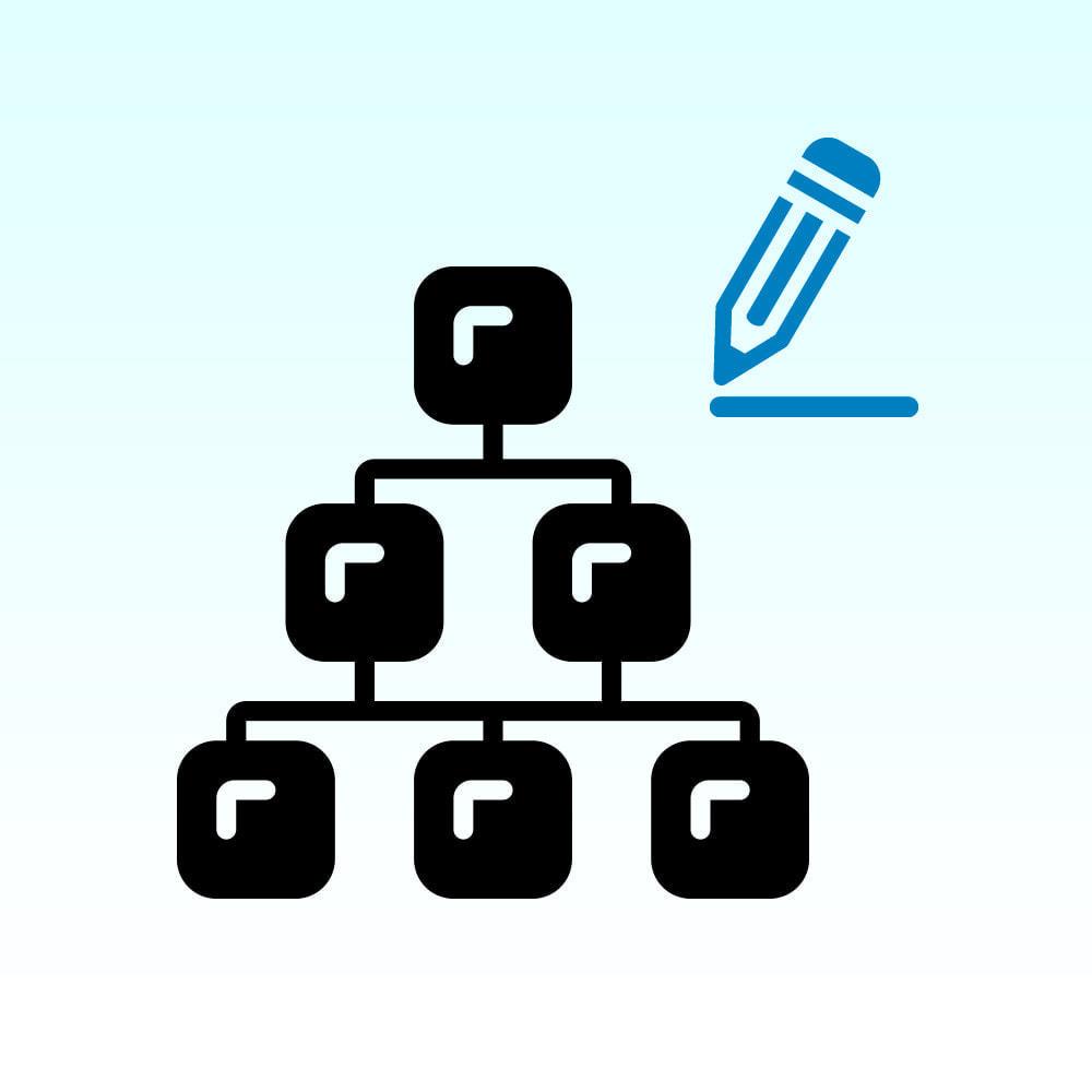 module - Edición Rápida y Masiva - Categorías de edición rápida - 1