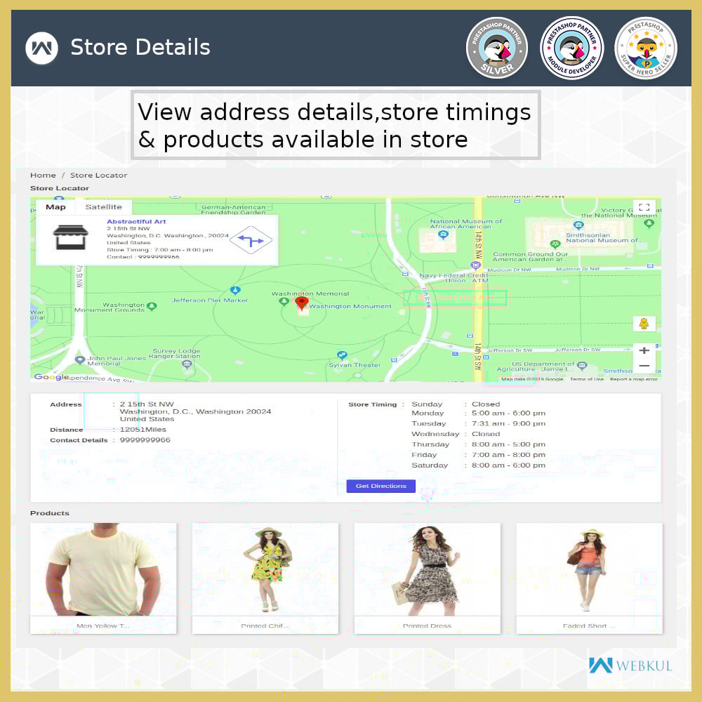 module - International & Localization - Store Locator - Store Pickup, Google Map - 10