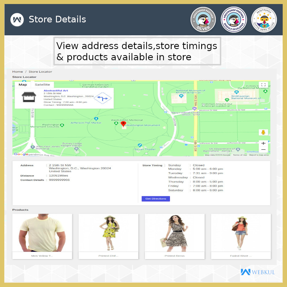 module - International & Localisation - Localisateur de magasin-Collecte de magasin,Google Map - 10