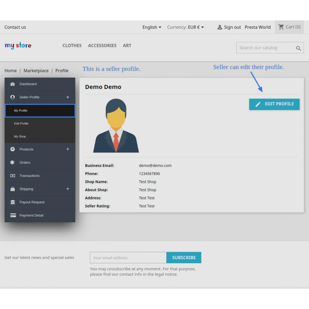 module - Marketplaces - Advanced Marketplace - Multi Vendor - 14