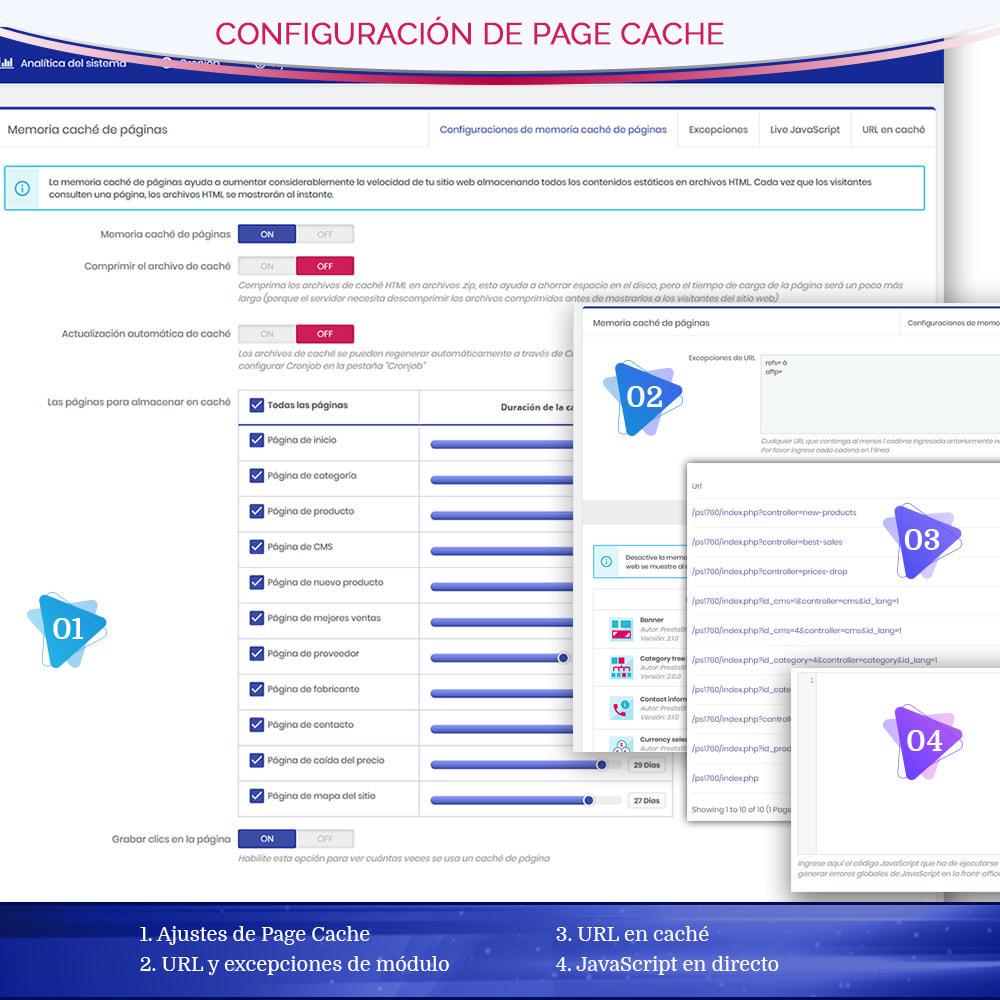 module - Rendimiento del sitio web - Page Cache Pro – Más velocidad y mejor SEO - 6