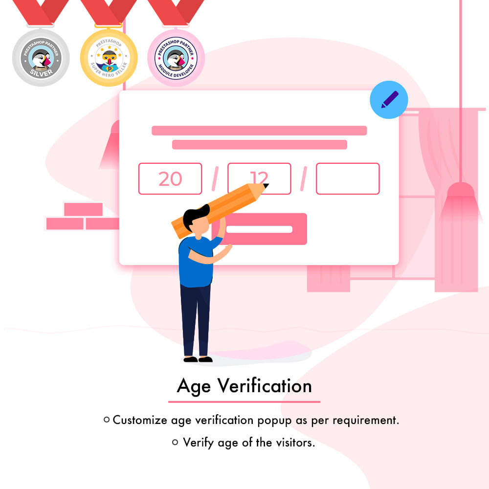 module - Sicherheit & Brechtigungen - Age Verification | Restrict Underage Users - 2