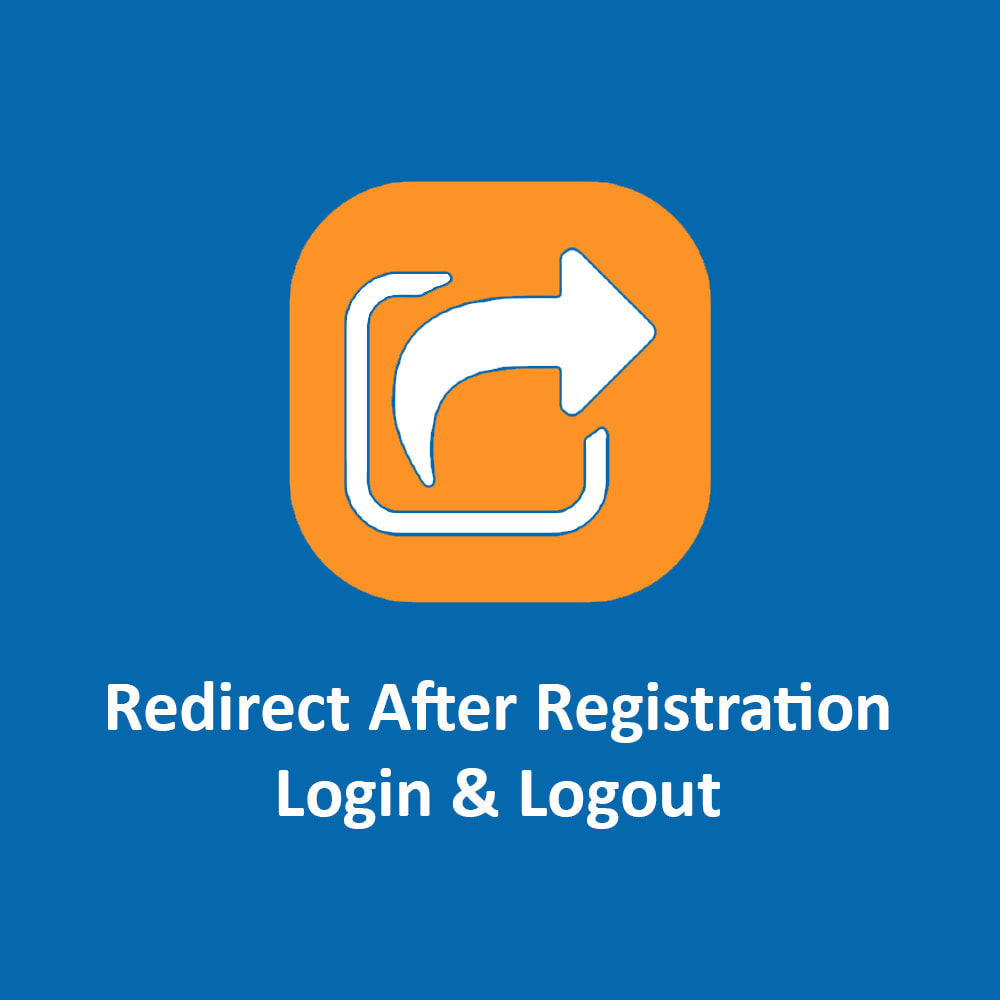 module - Inloggen - Redirect After Registration, Login & Logout - 1