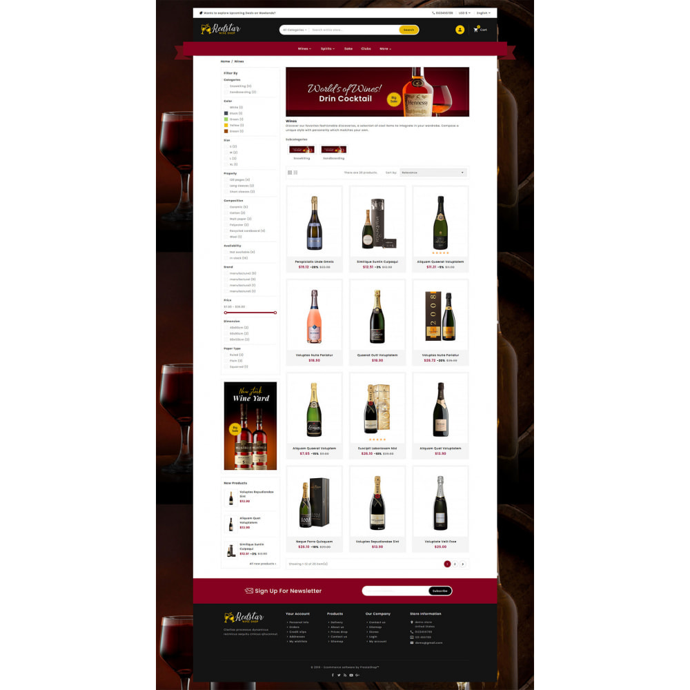 theme - Drink & Tobacco - Mega Wine Store - 3