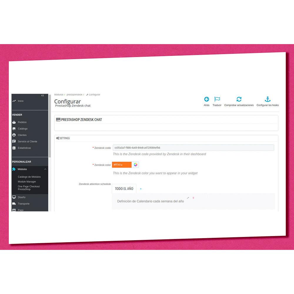 module - Asistencia & Chat online - Prestazendesk - 6