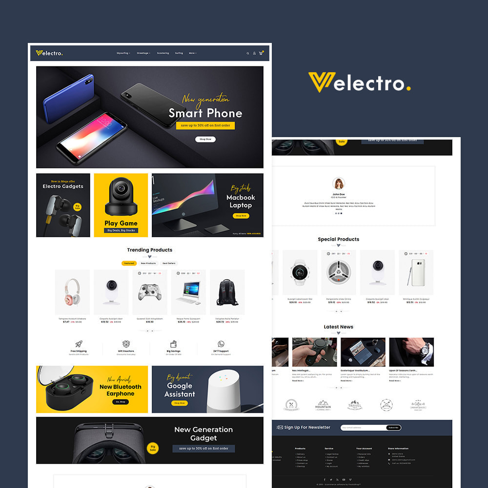 theme - Elektronika & High Tech - Electro - Electronics Store - 2