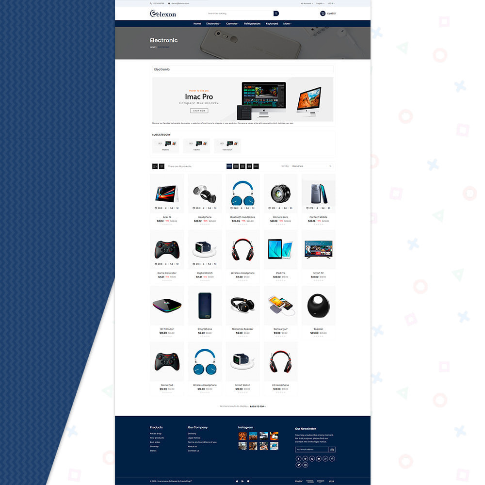 theme - Elettronica & High Tech - Elexon Electronics Super Mall - 3