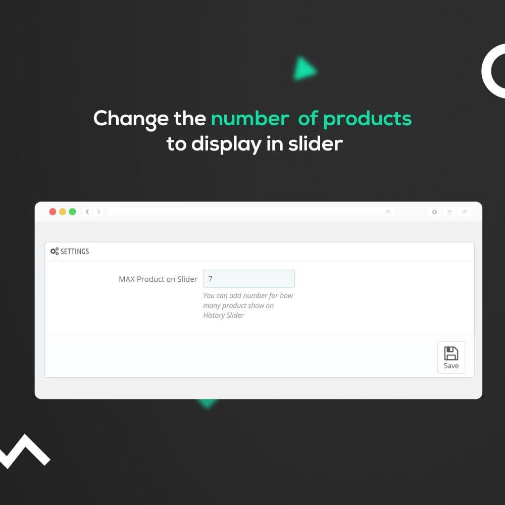 module - Ventas cruzadas y Packs de productos - Browsing History : Cross-Sell / Product Recommendation - 3