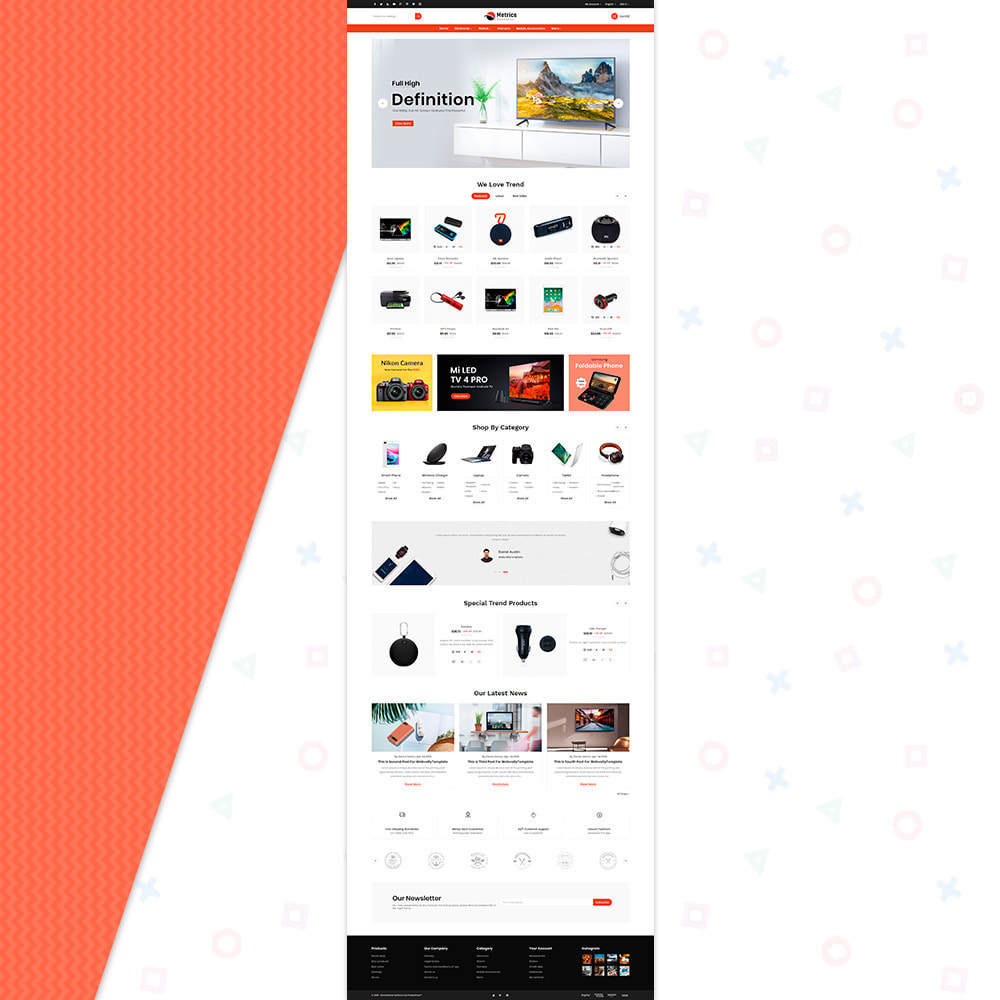 theme - Electronics & Computers - Metrix Electronics Big Mall - 2
