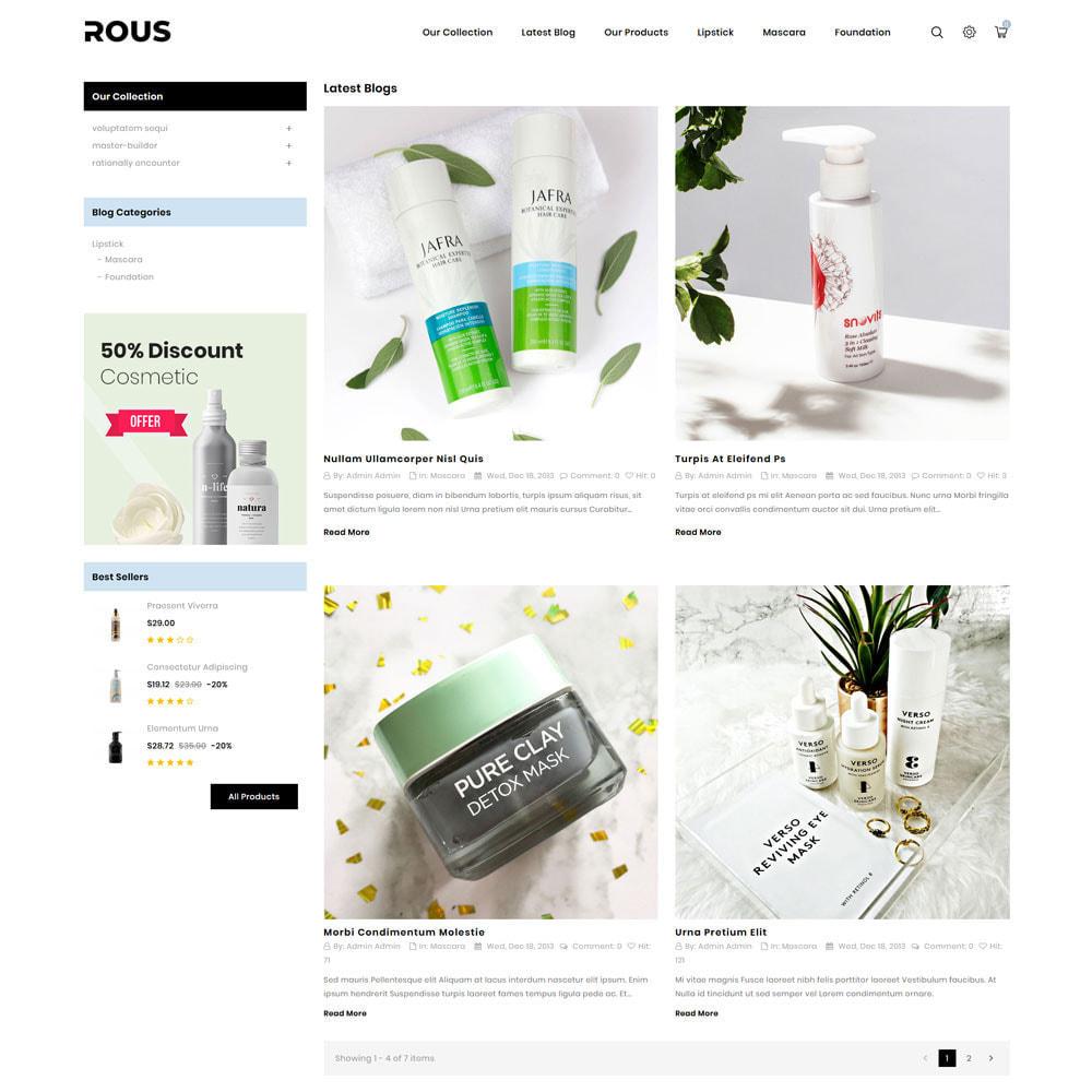 theme - Здоровье и красота - Rous - The Cosmetic Store - 8