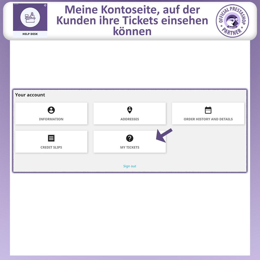 module - Kundenservice - Helpdesk – Kundensupport Verwaltungssystem-Module - 3