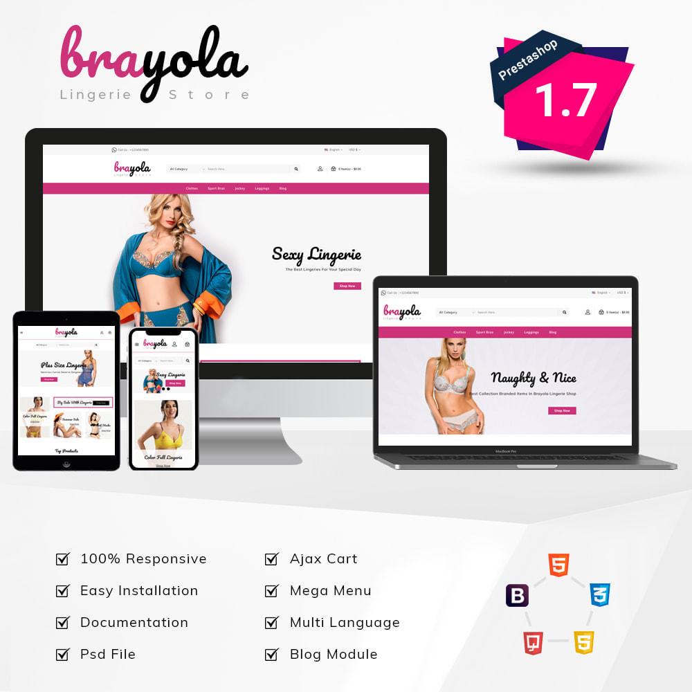 theme - Bielizna & Dorośli - Brayo Lingerie Store - 1