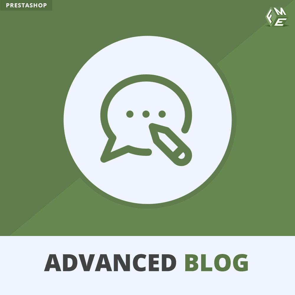 module - Блог, форумов и новостей - Отзывчивый профессиональный блог, SEOдружественный блог - 1