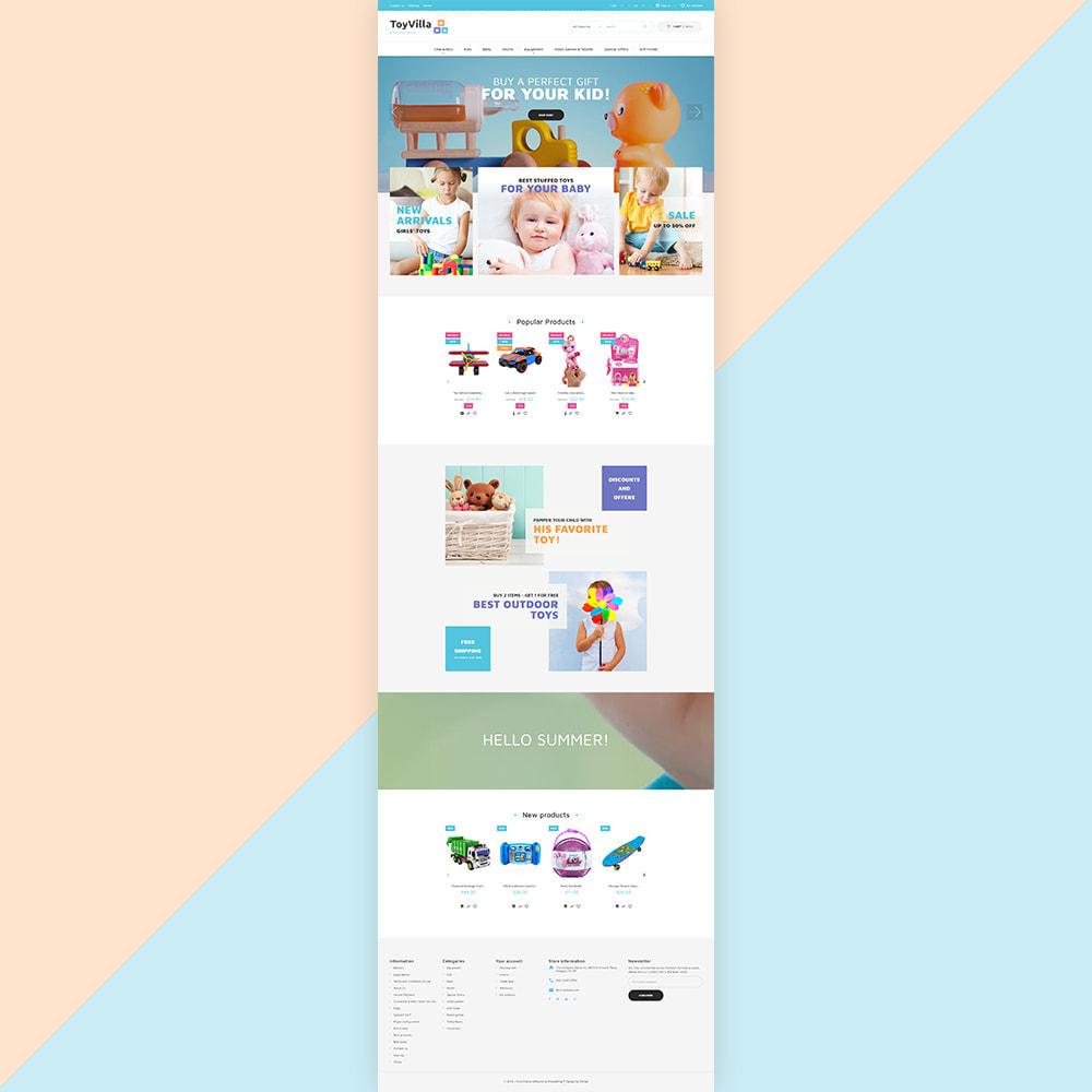 theme - Дети и Игрушки - ToyVilla - Plaything Store - 2