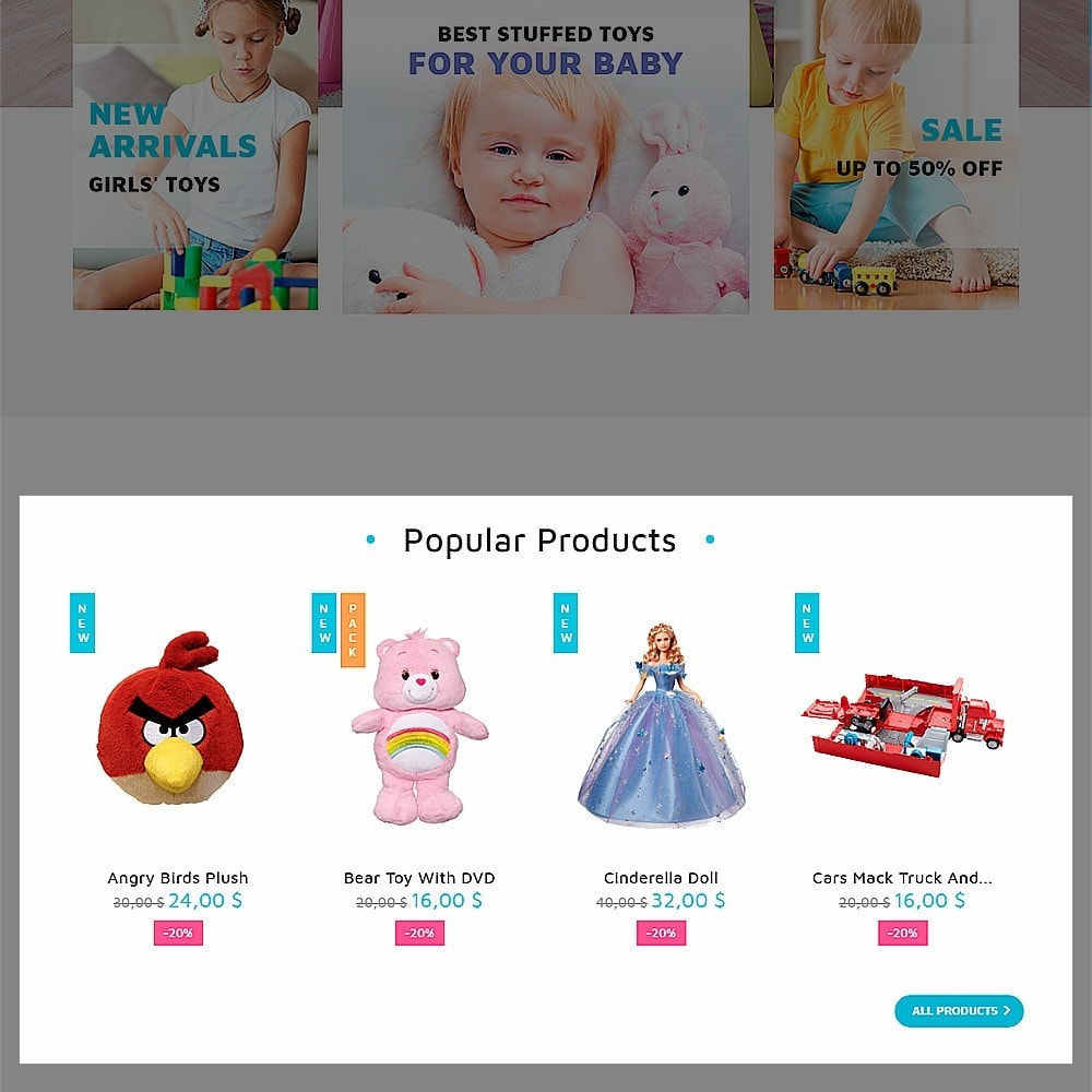 theme - Enfants & Jouets - ToyVilla - Plaything Store - 6