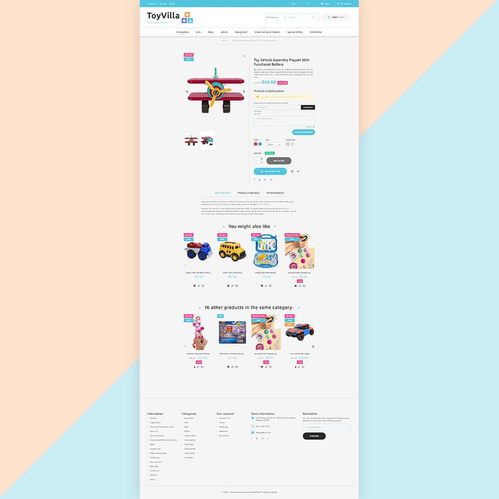 theme - Niños y Juguetes - ToyVilla - Plaything Store - 5