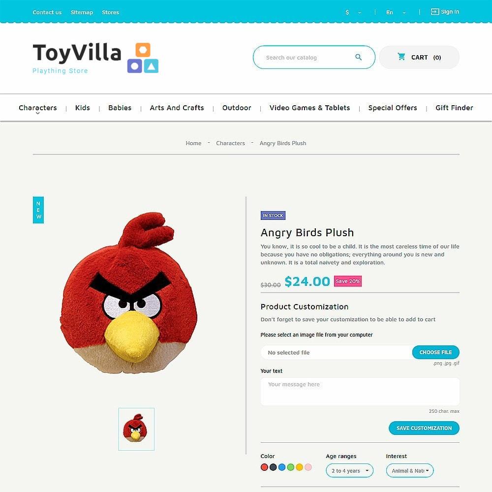 theme - Niños y Juguetes - ToyVilla - Plaything Store - 9
