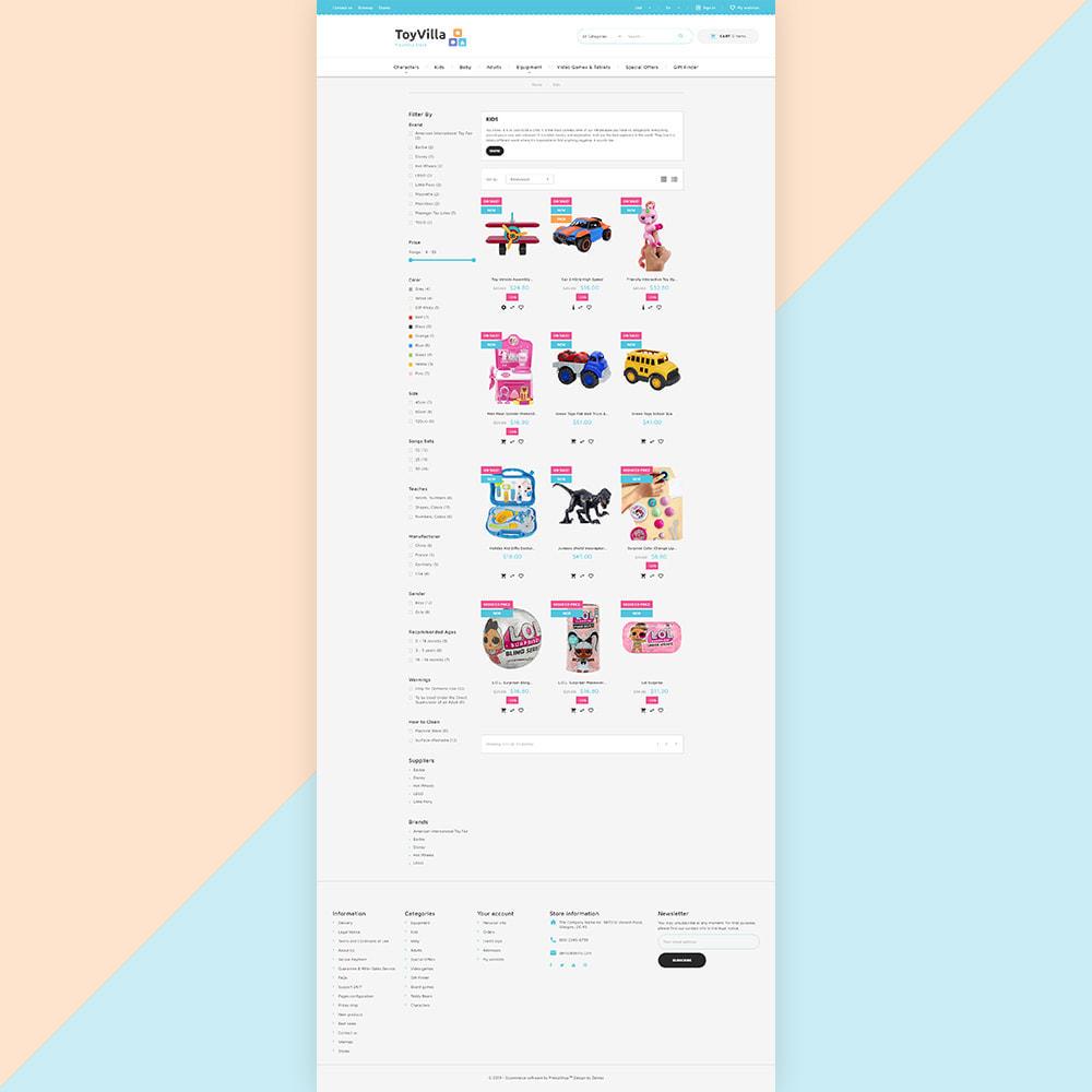theme - Bambini & Giocattoli - ToyVilla - Plaything Store - 4