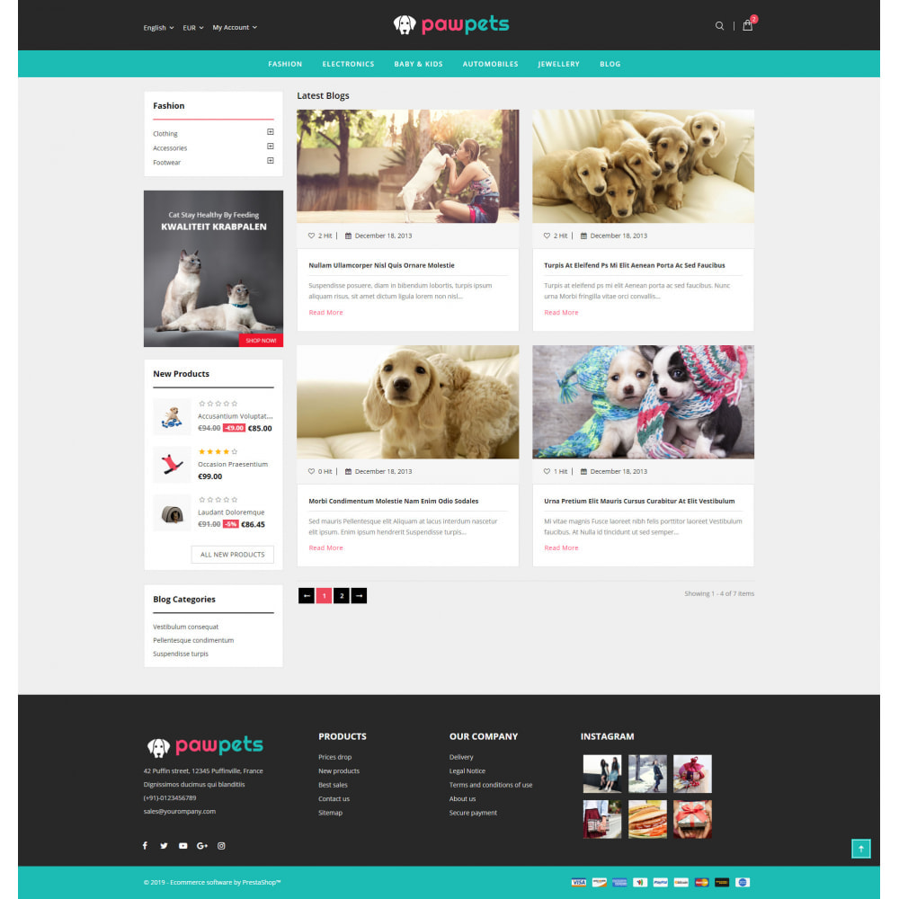 theme - Animaux - Pets & Animals Store - 9
