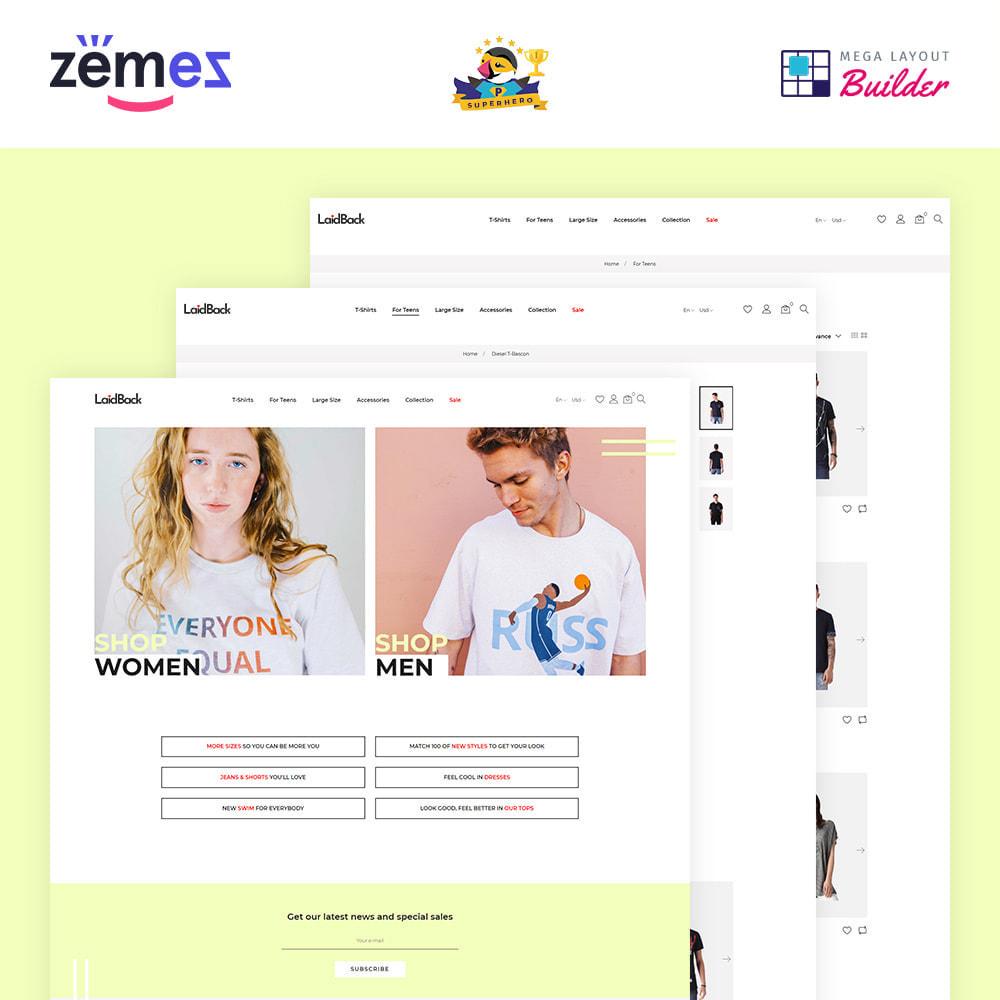 theme - Мода и обувь - Laidback - Casual Online Store - 1