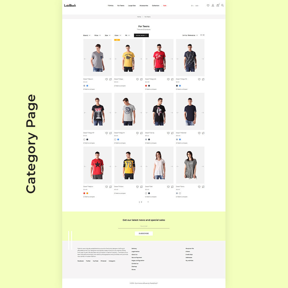 theme - Мода и обувь - Laidback - Casual Online Store - 3