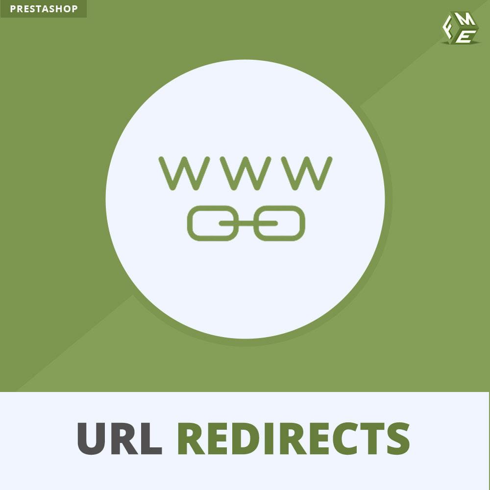 module - URL & Redirect - URL Redirects, Reindirizzamenti 301, 302, 303, 404 URLs - 1