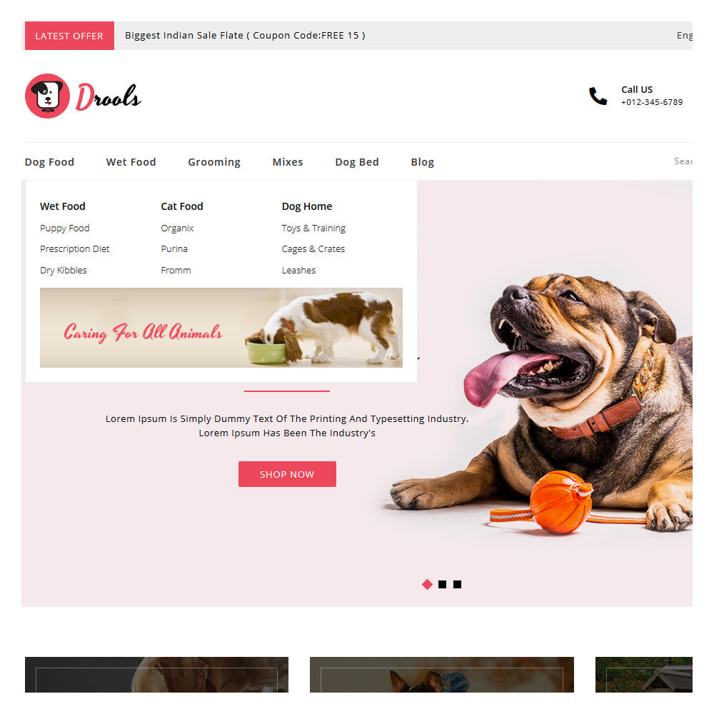 theme - Animals & Pets - Drools Animals & Pet Store - 7