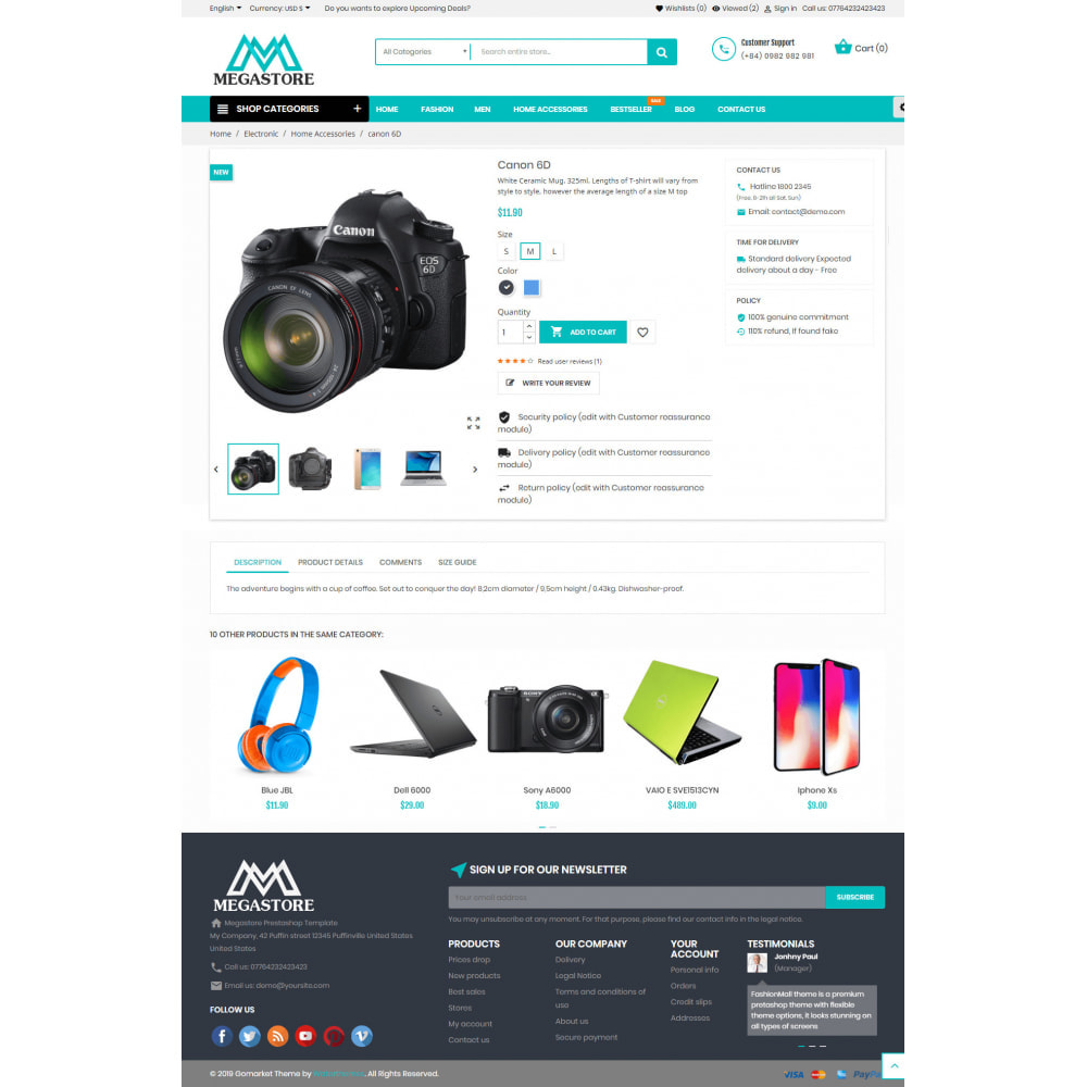 theme - Elektronica & High Tech - Mega shop online - 4