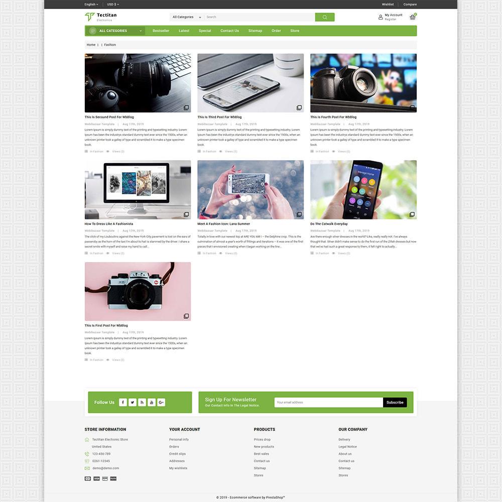 theme - Electronics & Computers - Tectitan - Best Electronics Store - 6