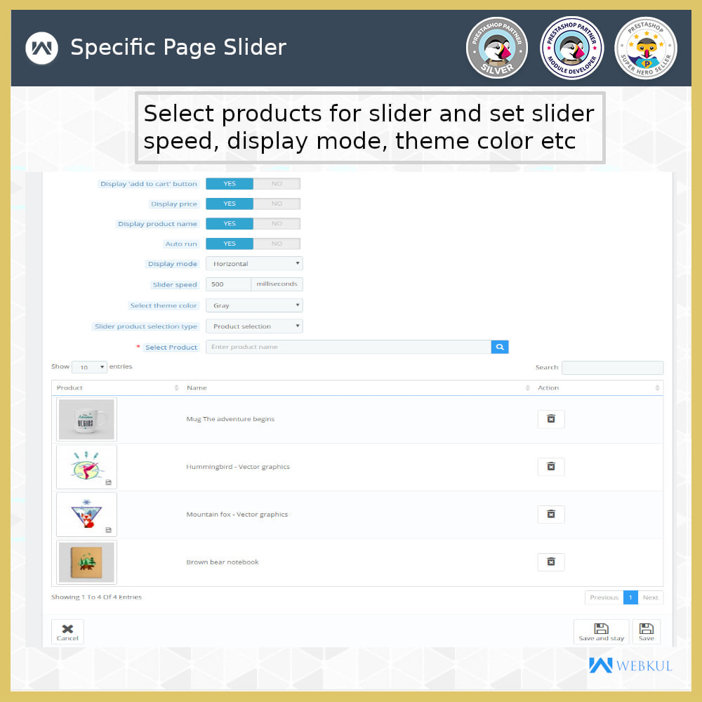 module - Sliders & Galleries - Product Slider - 5