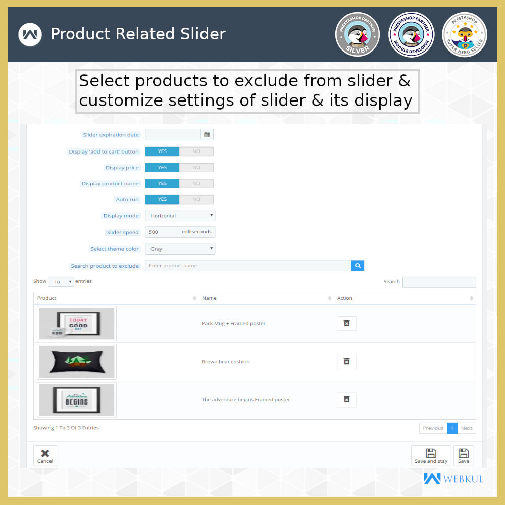 module - Sliders & Galleries - Product Slider - 16