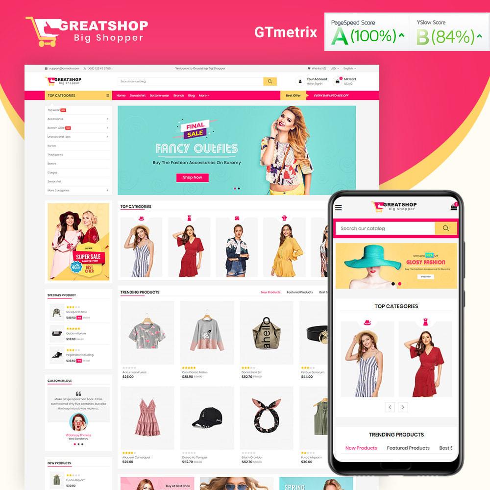 theme - Mode & Chaussures - Greatshop Mega Fashion Store - 1