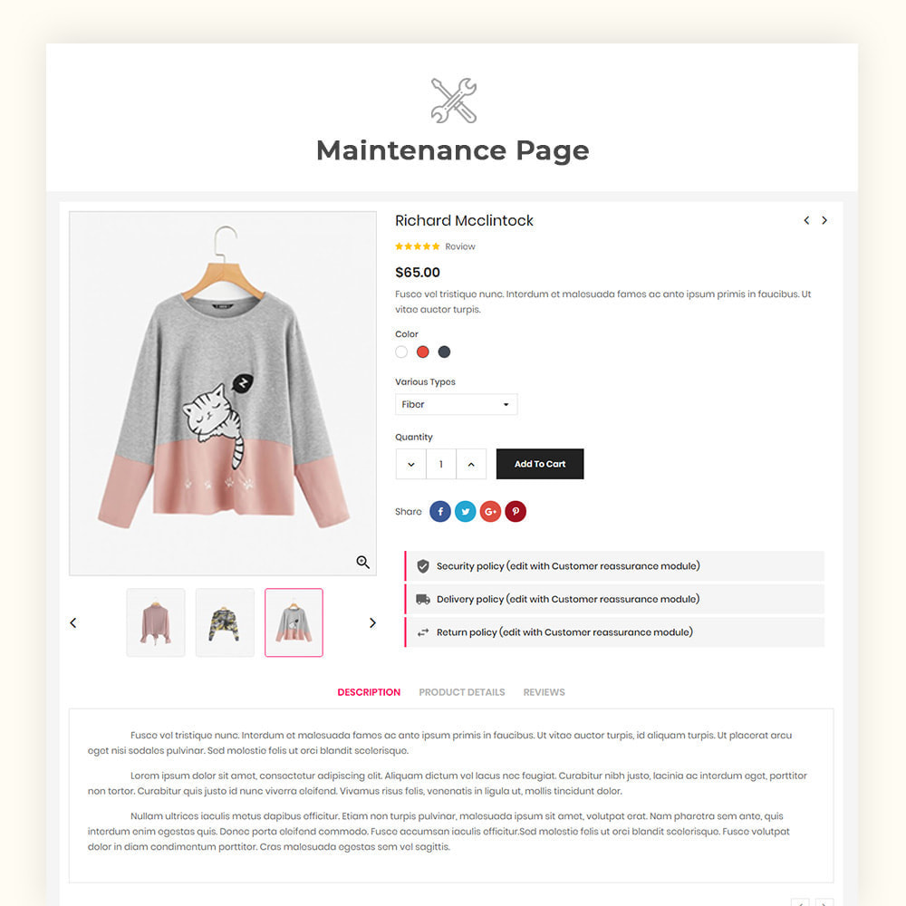 theme - Mode & Chaussures - Greatshop Mega Fashion Store - 8