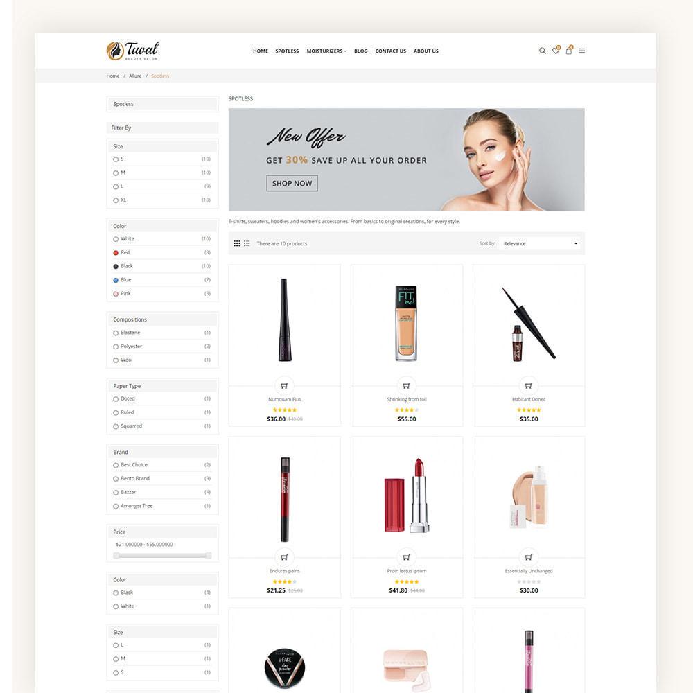 theme - Salud y Belleza - Tuval Beauty Salon Cosmetics Store - 5