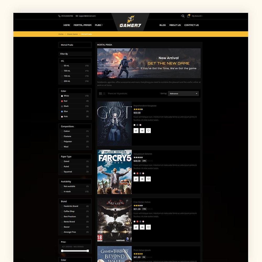 theme - Sport, Activiteiten & Reizen - Gamer7 Game Store - 6