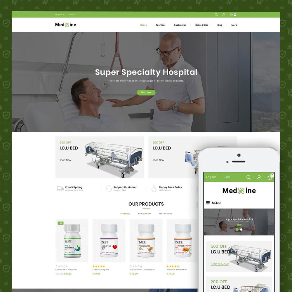 theme - Health & Beauty - Medxine - Medical Store - 1