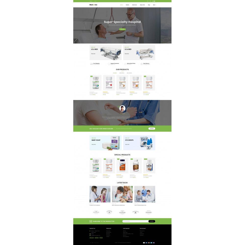 theme - Health & Beauty - Medxine - Medical Store - 2