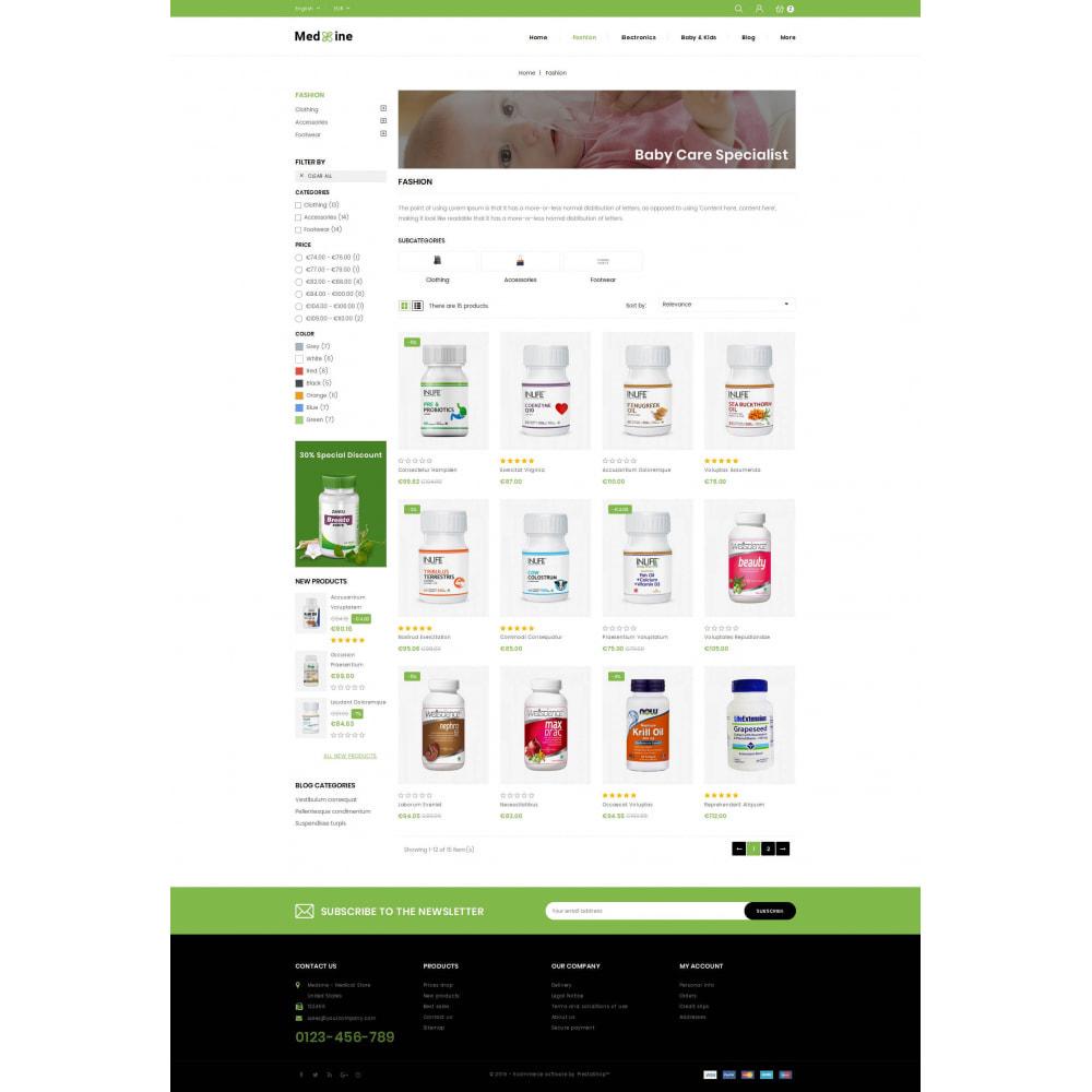 theme - Health & Beauty - Medxine - Medical Store - 3