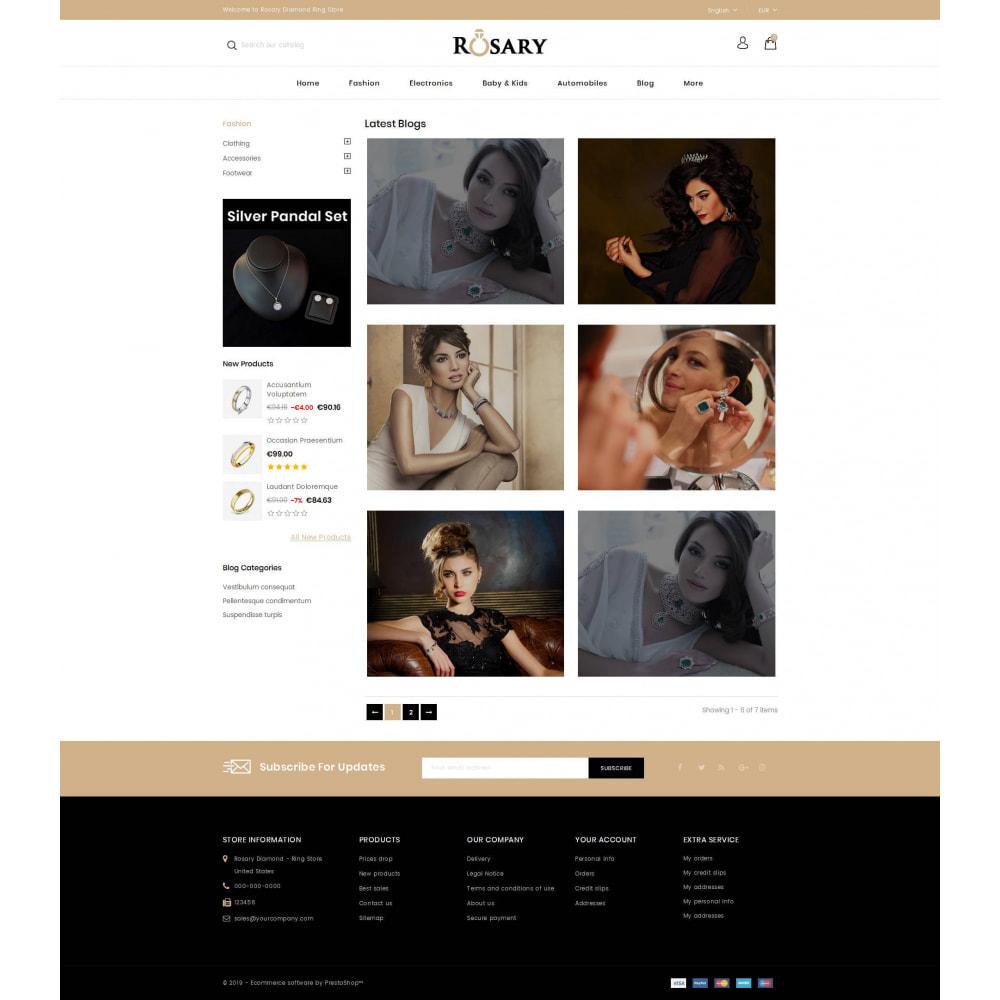 theme - Biżuteria & Akcesoria - Rosary Diamond Store - 9