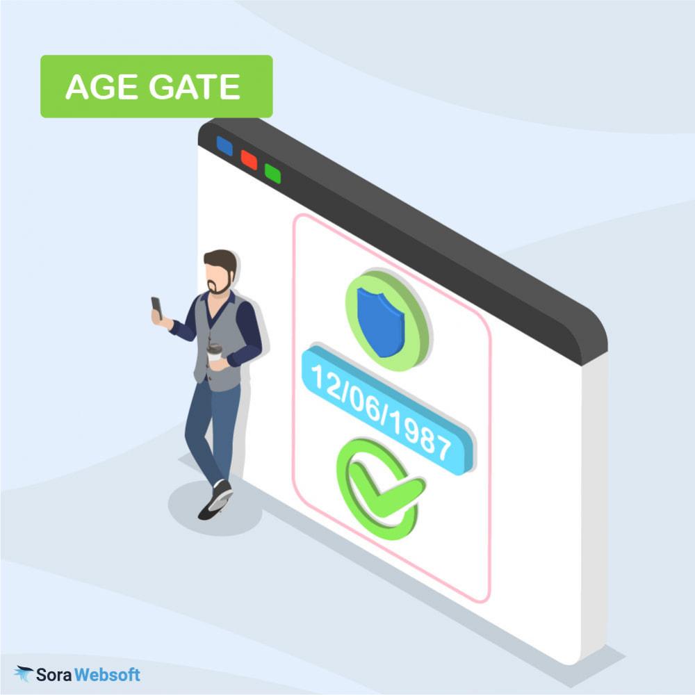 module - Sécurité & Accès - Module Vérification d'age des visiteurs - 1