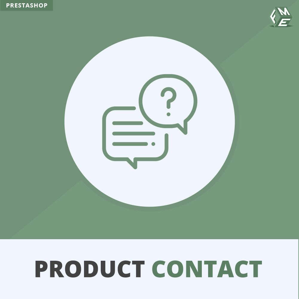 module - Contactformulier & Enquêtes - Product Contact - Enquiry Form - 1