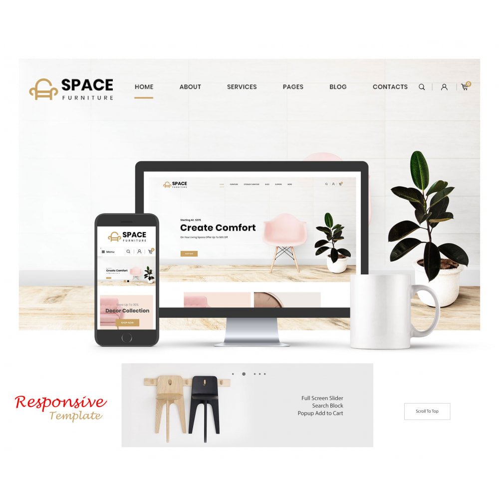 theme - Home & Garden - Space - Online Furniture Store - 1