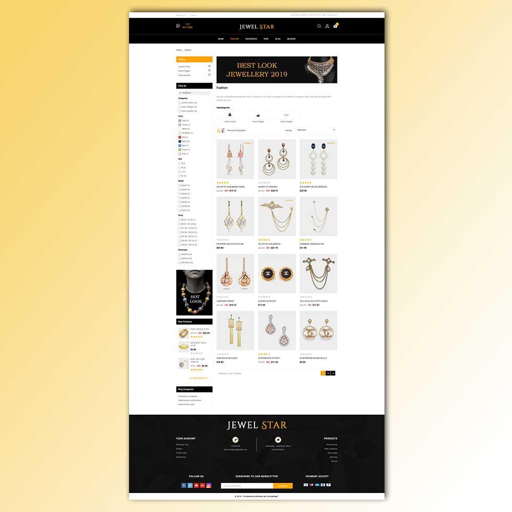 theme - Jewelry & Accessories - Jewelstar - Jewellery Store - 5