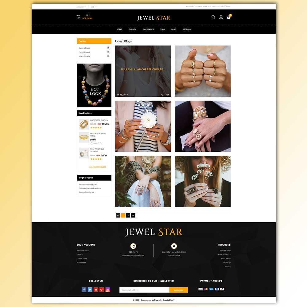 theme - Jewelry & Accessories - Jewelstar - Jewellery Store - 9