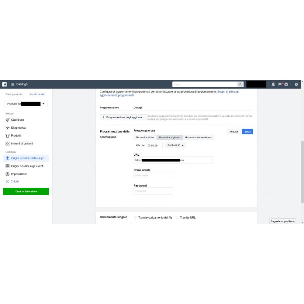 module - Prodotti sui Facebook & Social Network - Generatore feed per social network (Tagga i prodotti!) - 3